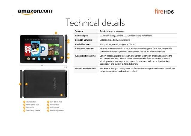 Introducing Amazon Fire HD 6