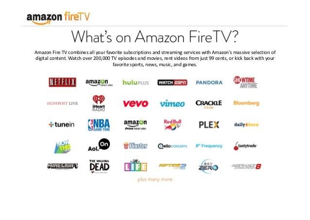 Introducing Amazon Fire TV
