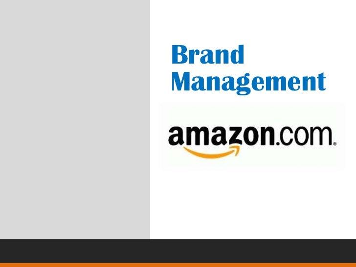 Brand Management<br />