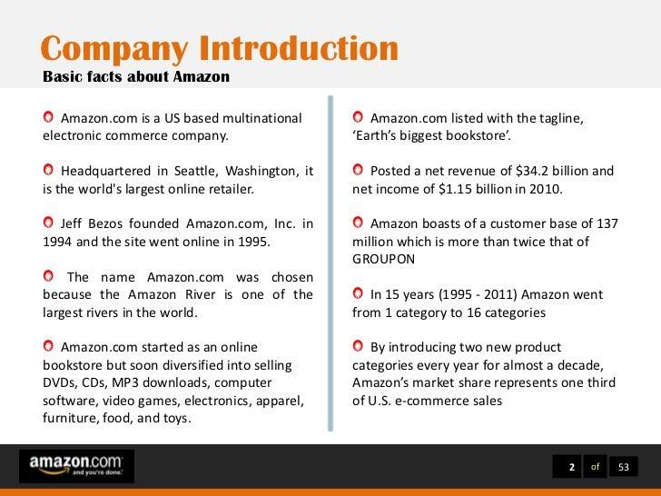 Brand Management Study of Amazon