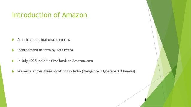 Amazon India business strategy Slide 2