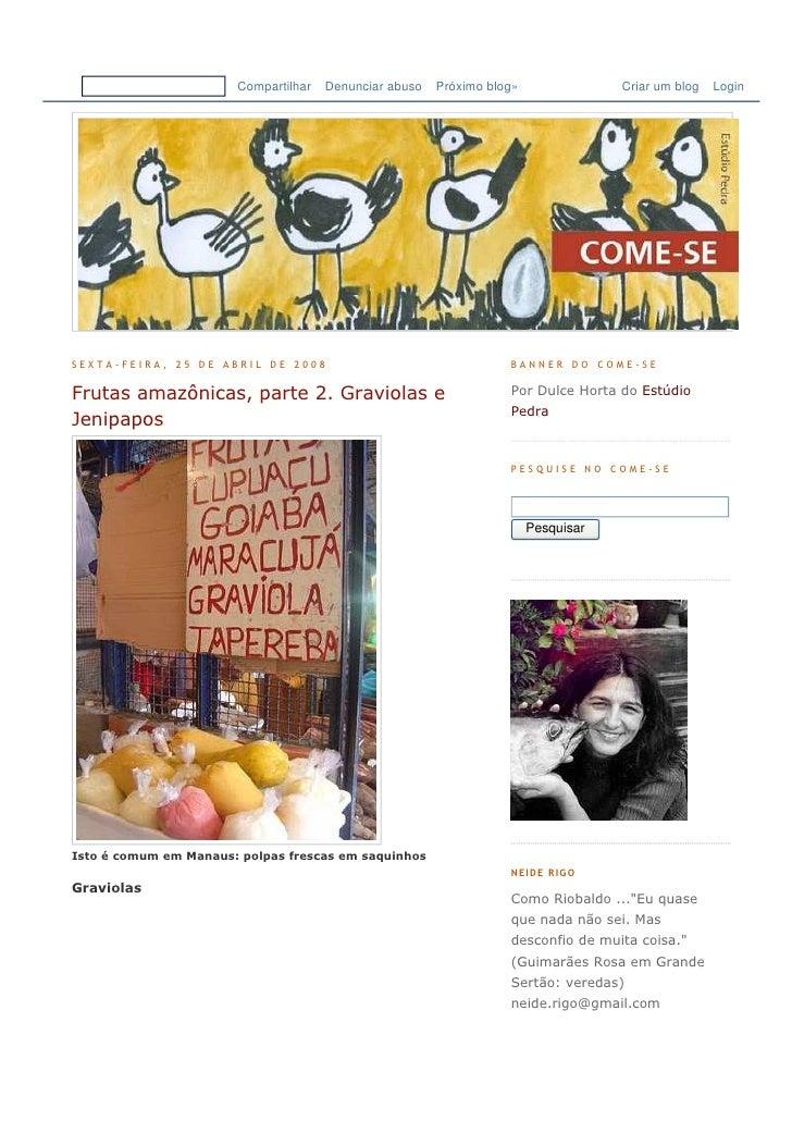 Compartilhar   Denunciar abuso   Próximo blog»               Criar um blog   Login     SEXTA-FEIRA, 25 DE ABRIL DE 2008   ...
