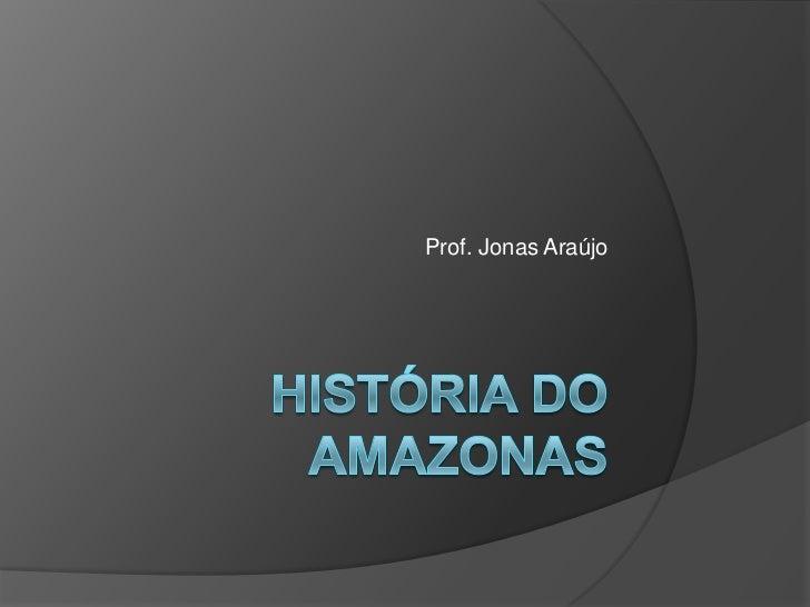 Prof. Jonas Araújo