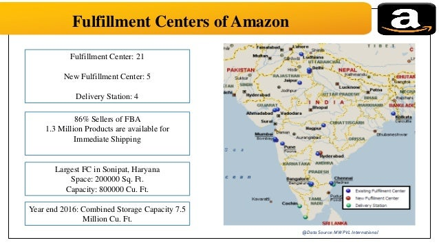 Supply chain management of amazon india customers 17 fulfillment centers of amazon gumiabroncs Gallery