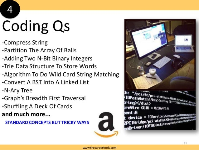 4  Coding Qs -Compress String -Partition The Array Of Balls -Adding Two N-Bit Binary Integers -Trie Data Structure To Stor...