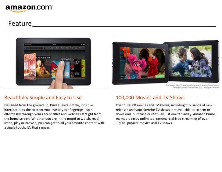 Introducing Amazon Kindle Fire