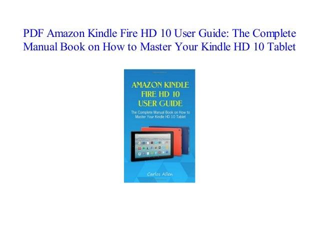 Amazon Kindle Book As Pdf