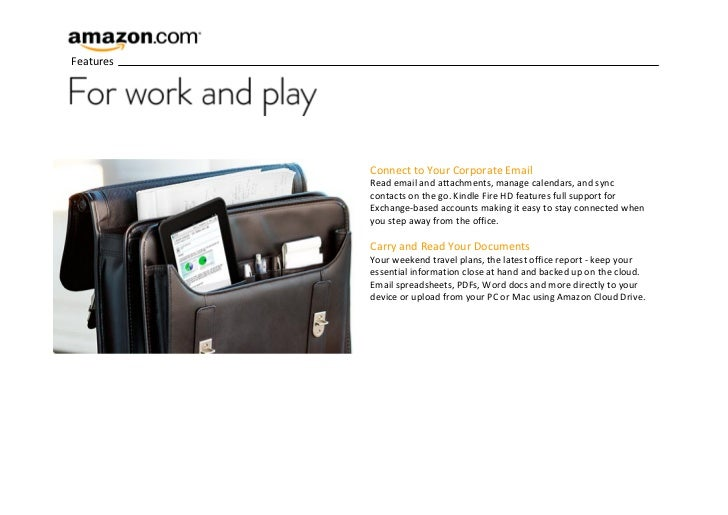 Introducing Amazon Kindle Fire HD - 7 inch