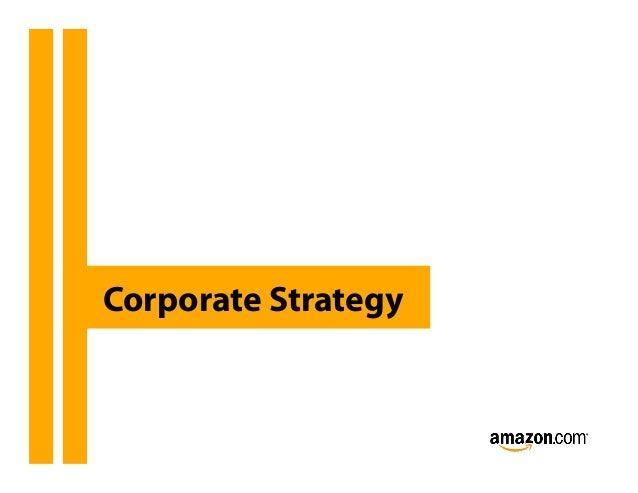 Strategy Presentation on Amazon Slide 3