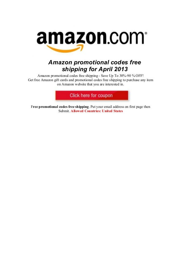 promotional coupon for amazon