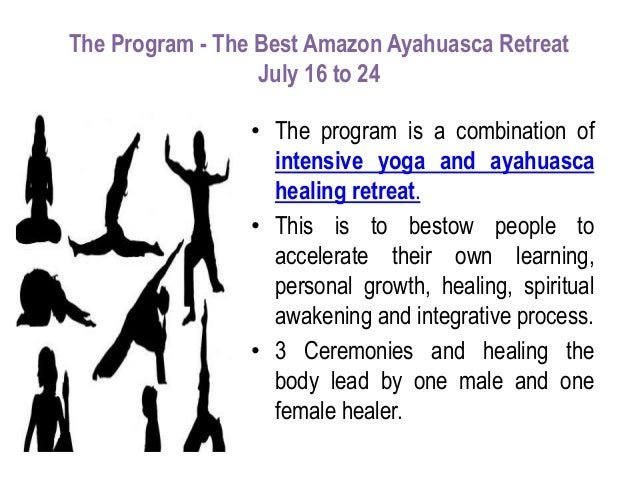 The Best Amazon Ayahuasca Retreat – July 16 to 24