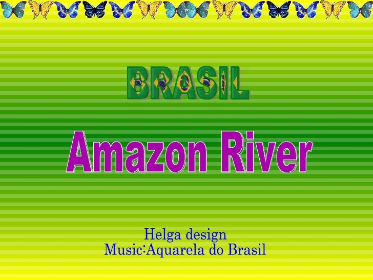 Amazônia- Rio AmazonasThe AmazonRiver, the largest drainage basin in the world, covers an area of some  6,915,000 square k...