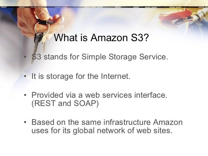 Intro to Amazon S3 Slide 3