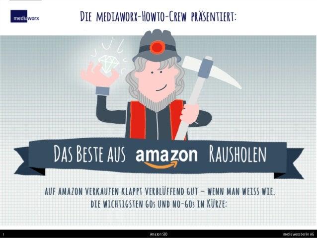 mediaworx berlin AGmediaworx berlin AG1 Amazon SEO