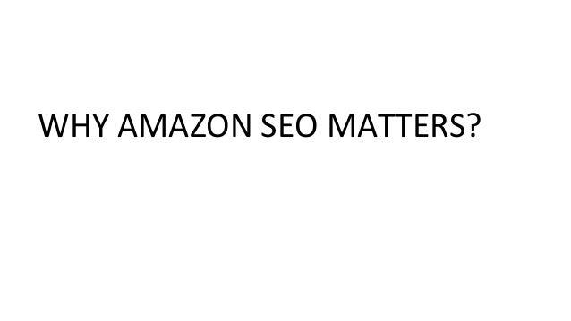 Amazon SEO Tools I wound't Avoid Slide 2