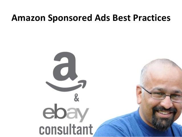 Amazon Sponsored Ads Best Practices