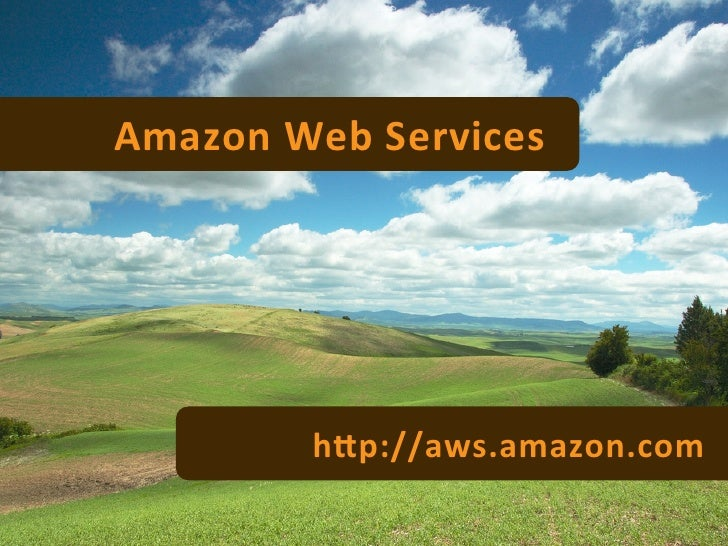 amazon grid computing and web services Grid computing definition  web services such as atm banking,  grid operations are generally classified into two categories.