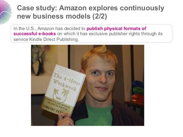 case study on amazon