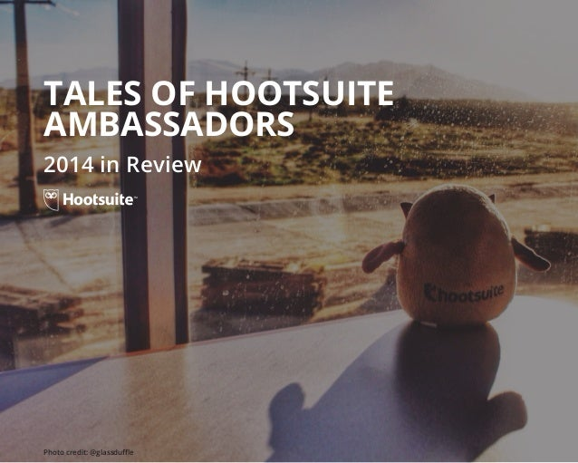 Hootsuite Ambassador Yearbook