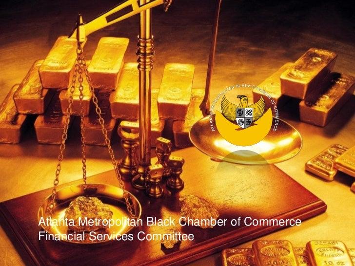 Atlanta Metropolitan Black Chamber of Commerce's Women's League  Atlanta Metropolitan Black Chamber of Commerce  Financial...