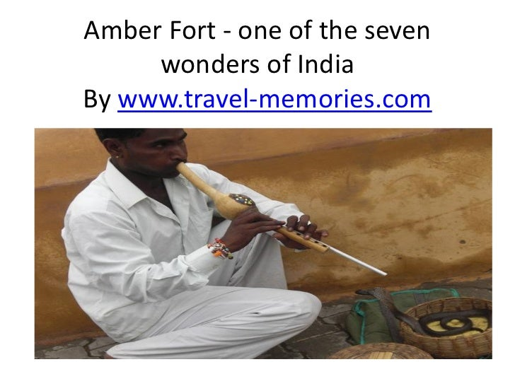 Amber Fort - one of the seven     wonders of IndiaBy www.travel-memories.com