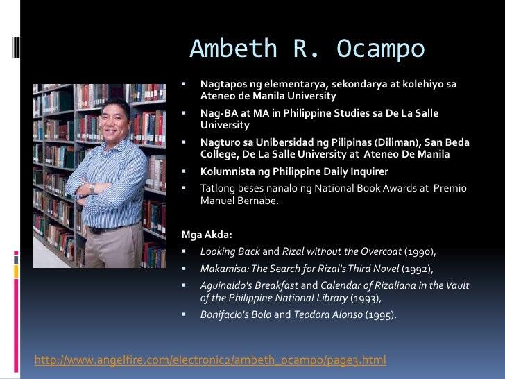 Ambeth Ocampo article reaction