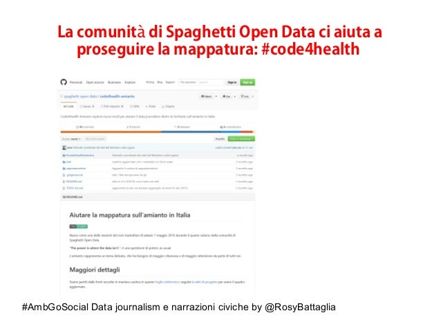 #AmbGoSocial Data journalism e narrazioni civiche by @RosyBattaglia La comunit di Spaghetti Open Data ci aiuta aà prosegui...