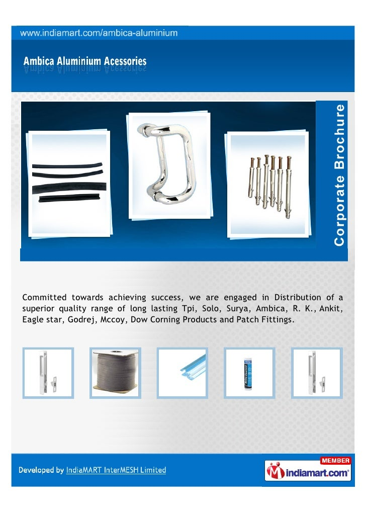 Committed towards achieving success, we are engaged in Distribution of asuperior quality range of long lasting Tpi, Solo, ...