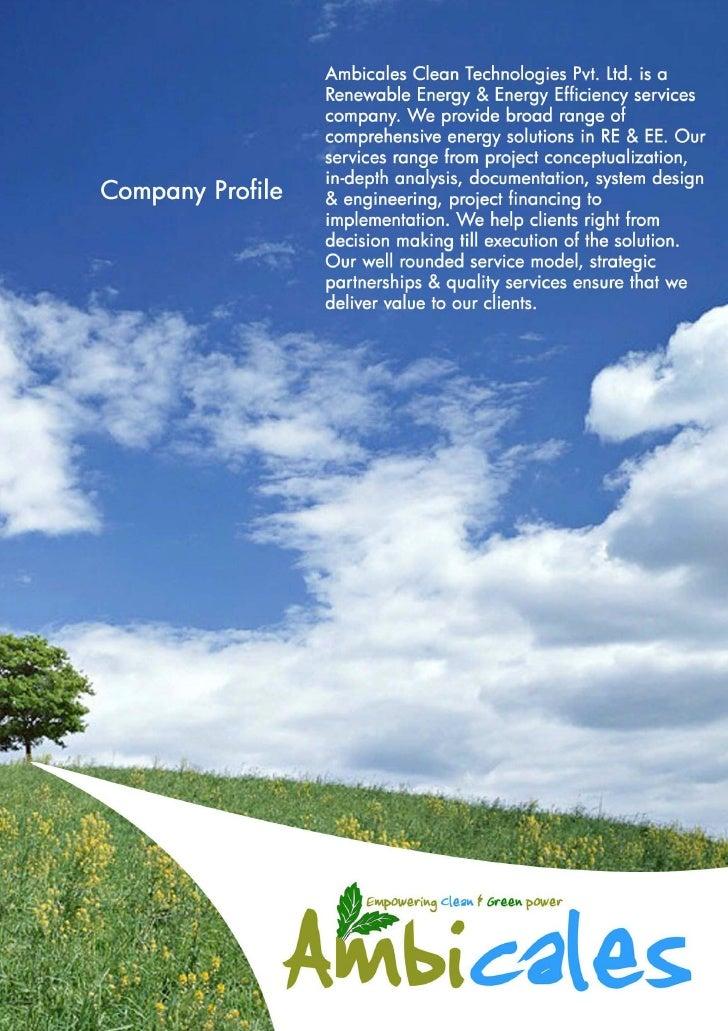 Ambicales Service Brochure