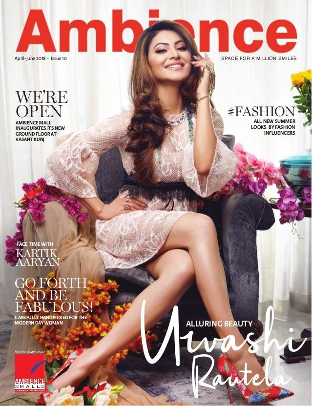 3f7c82881aa Ambience Mall Magazine April - June 2018