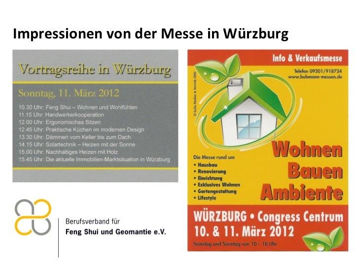 Impressionen von der Messe in Würzburg