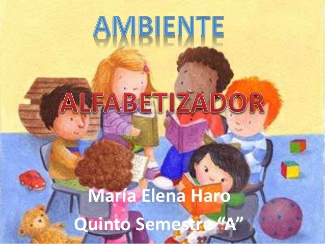 "María Elena Haro Quinto Semestre ""A"""