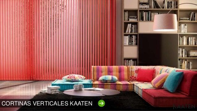 Decoraci n de ambientes con las cortinas y estores kaaten - Decoracion cortinas y estores ...