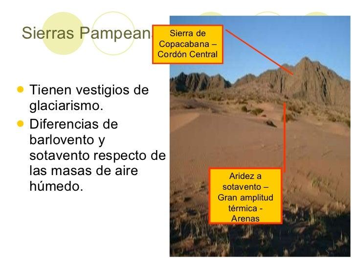 Ambientes naturales en la argentina - Barlovento y sotavento ...