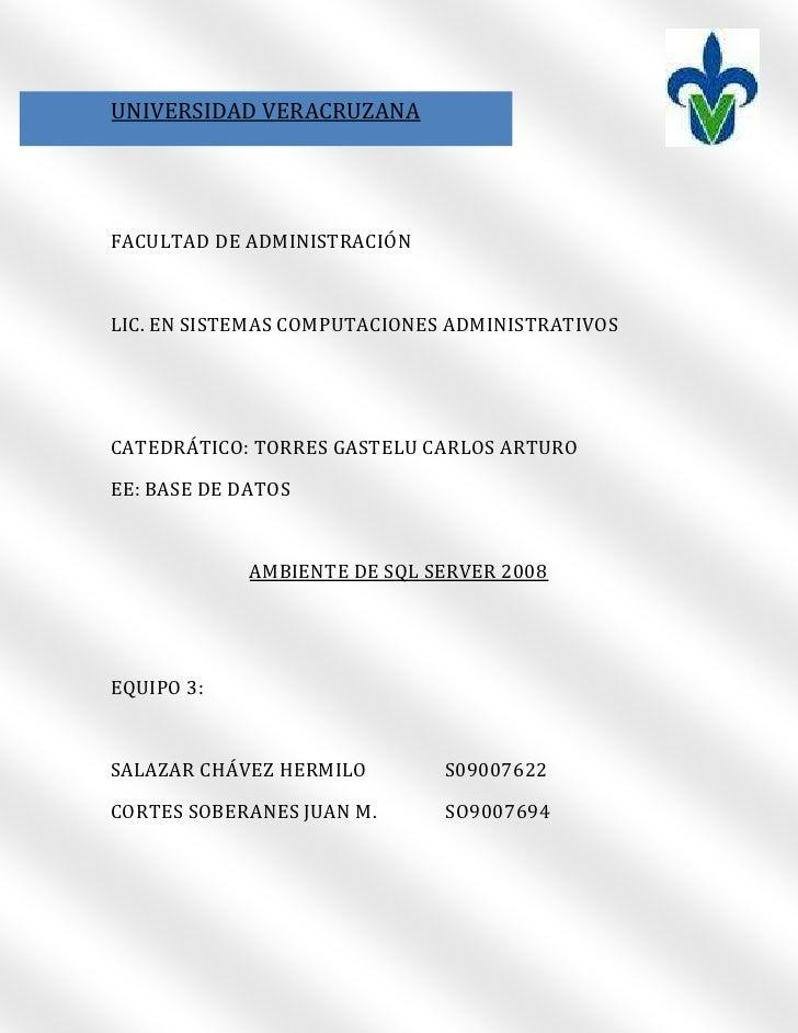 5409565-62103000190500889000UNIVERSIDAD VERACRUZANA00UNIVERSIDAD VERACRUZANA<br />FACULTAD DE ADMINISTRACIÓN<br />LIC. EN ...