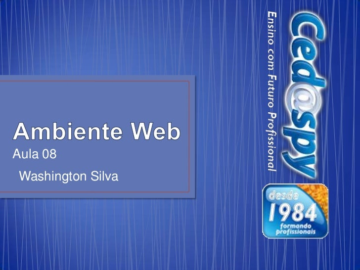 Aula 08Washington Silva