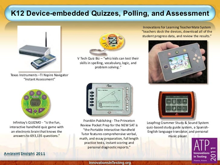 K12 Device-embedded Quizzes, Polling, and Assessment                                                                      ...