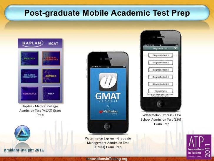 Post-graduate Mobile Academic Test Prep         Kaplan - Medical College       Admission Test (MCAT) Exam                 ...