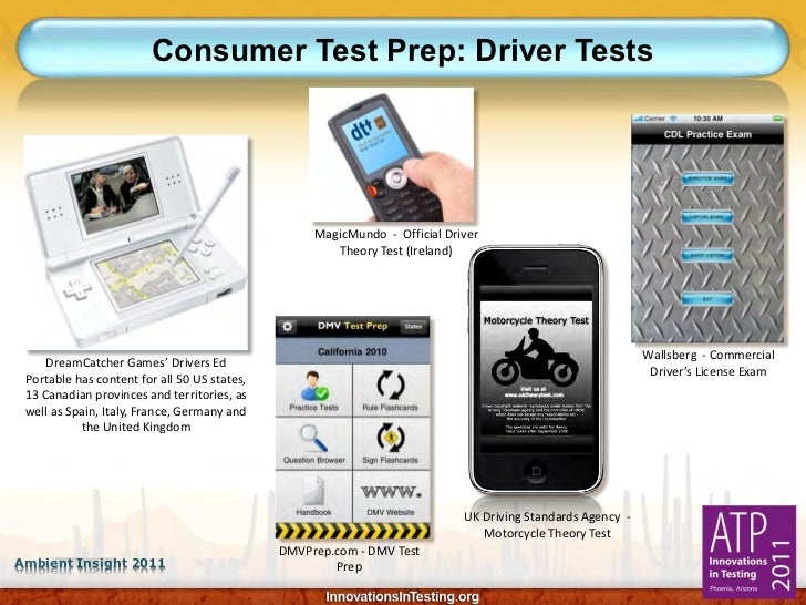 Consumer Test Prep: Driver Tests                                                   MagicMundo - Official Driver           ...