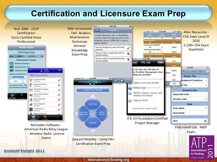 Certification and Licensure Exam Prep    Tech 2000 - CCVP                  Tekk Innovations       Certification           ...