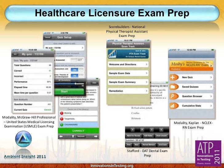 Healthcare Licensure Exam Prep                                      Scorebuilders - National                              ...