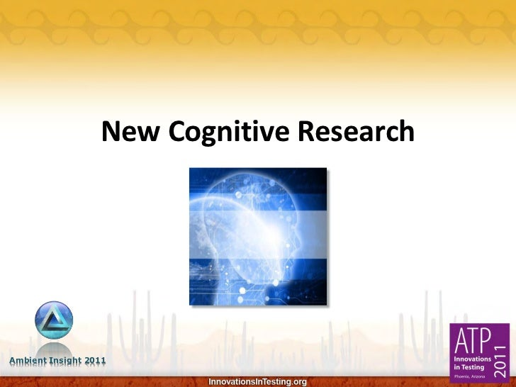 New Cognitive ResearchAmbient Insight 2011