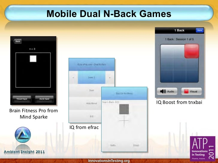 Mobile Dual N-Back Games                                            IQ Boost from tnxbai  Brain Fitness Pro from       Min...