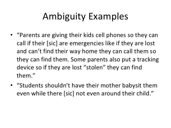 Ambiguity lesson[1]
