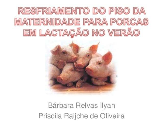 Bárbara Relvas Ilyan Priscila Raijche de Oliveira