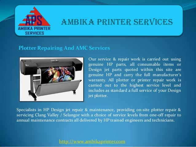 Ambika Printers - Plotters and Laptop Repairing Services in Pune Slide 2