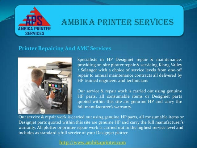 Ambika Printers - Plotters and Laptop Repairing Services in Pune Slide 3