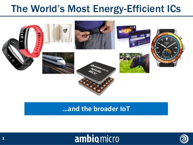 How lower power consumption is transforming wearables and enabling new and different use cases: a conversation with Ambiq Slide 3