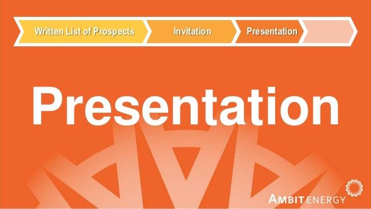 ambit energy presentation