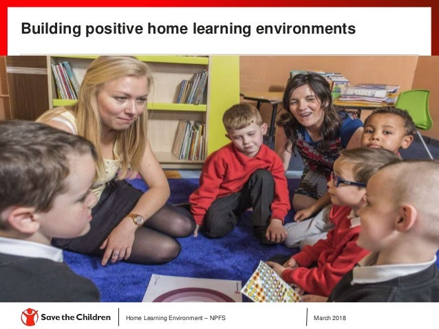 Childs Home Learning Environment >> Save The Children